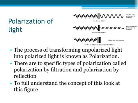 Polarization Of Light by Ppt Refraction And Reflection Polarization Of Light Powerpoint Presentation Id 4770468