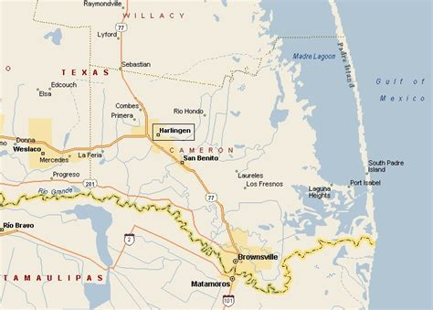 maps brownsville texas brownsville texas map