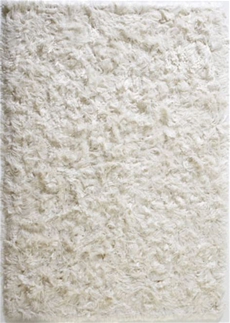 Modern White Rug by Vibrissa White Shag Rug From The Shag Rugs Collection At