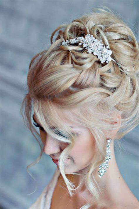 Bridal Wedding Updo Hairstyles For Medium Hair by Wedding Hairstyle For Medium Hair