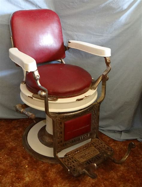 Theo A Kochs Barber Chair by Theo A Kochs Barber Chair