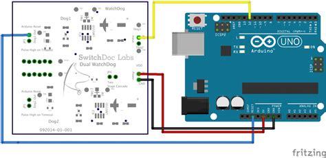 reset software arduino dual watchdog timer switchdoc labs