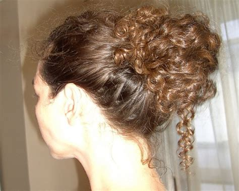updos for curly hair casual and formal curly hair updos