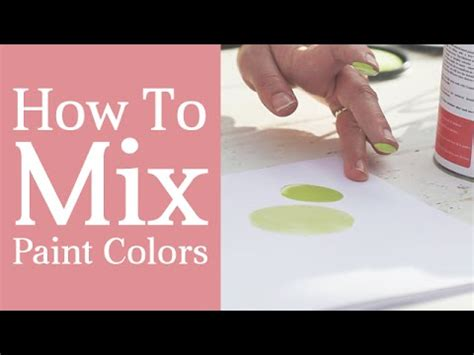 how to mix paint colors color mixing tutorial tints tones shades and hues