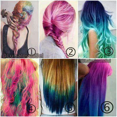 hair tattoo numbers bright colored hair tattoos and wild color hair