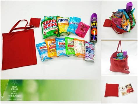 Foldable Shopping Bag Ecobag Tas Belanja Lipat Tas Lipat 021443 imutzdonk be different be unique be yourself