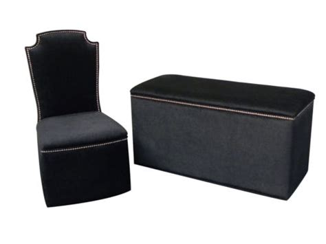 Bedroom Chair And Ottoman Sets | ottomans single lid bedroom chair ottoman set