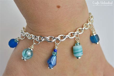 Handmade Braclets - charm bracelet tutorial a simple and project