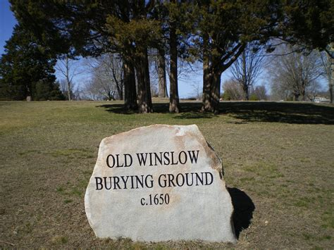 Find A Grave Find A Grave Winslow Burying Ground