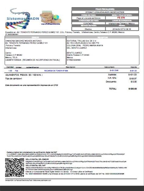 auto zone facturas pdf y xml visor de facturas electronicas sat descargar