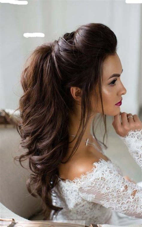Wedding Hair Pics Half Up by Half Up Half Bridal Hairstyle Modren Villa