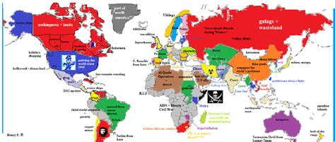 map world according to map of the world according to me yhfung92