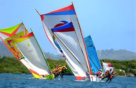 party boat ending race guides visitors to martinique s treasures the