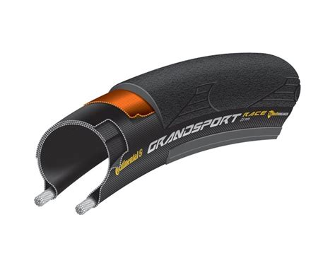 Folding Cing by Continental Grand Sport Race Folding Road Tyre Merlin Cycles