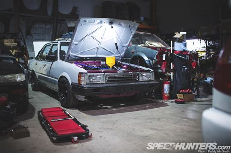 Lu Belakang Daihatsu Charmant 1 Set closed doors the shed speedhunters