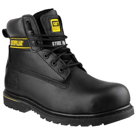 Caterpillar Holton Safety Boots caterpillar holton safety boots abbeydale direct a