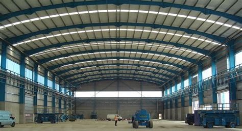 Structural Steel Shed Design by Profissionais De Design Estrutural Workshop Estrutura De