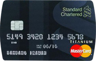 bca mastercard debit kartu kredit standard chartered master card titanium