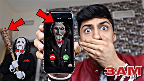 film called jigsaw do not call jigsaw from saw movie at 3am omg he came to