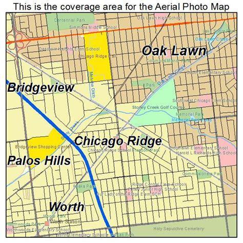 chicago ridge mall map aerial photography map of chicago ridge il illinois