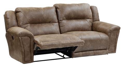 lay flat recliner sofa catnapper collin power lay flat reclining sofa with x tra