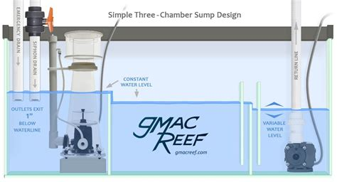 aquarium refuge design reef tank sump design gmacreef