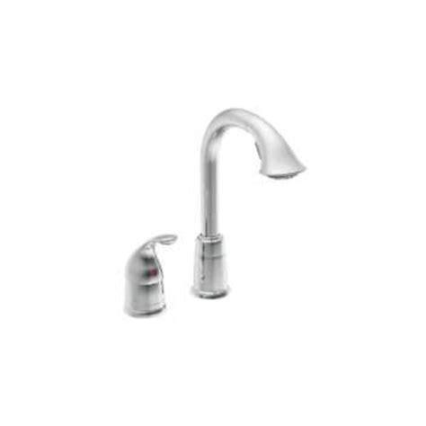 moen s71708csl ascent one handle high arc pulldown kitchen moen 5955csl single handle high arc pulldown bar faucet