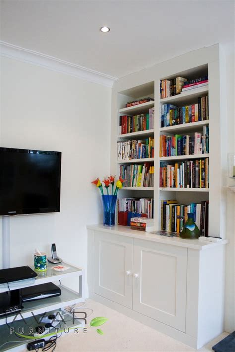 Fitted Bookcases ƹӝʒ alcove units ideas gallery 5 uk