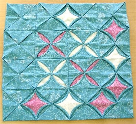 Patchwork Cathedral Window - the stitchery doers patchwork cathedral window contd