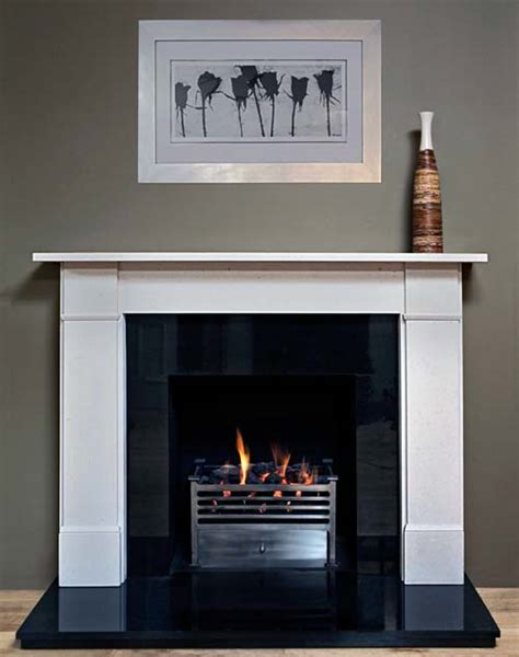 Flat Fireplaces by Limestone Flat Mantel By Marble