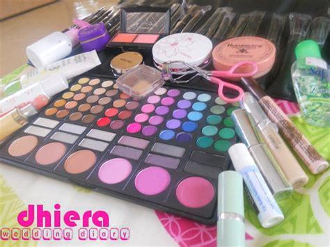 tutorial makeup elianto tutorial mekap tunang dan produk diari kahwin dhiera
