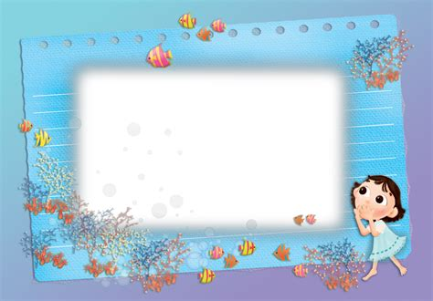 imagenes textos escolares marcos de fotos delicados para ni 241 os y beb 233 s marcos