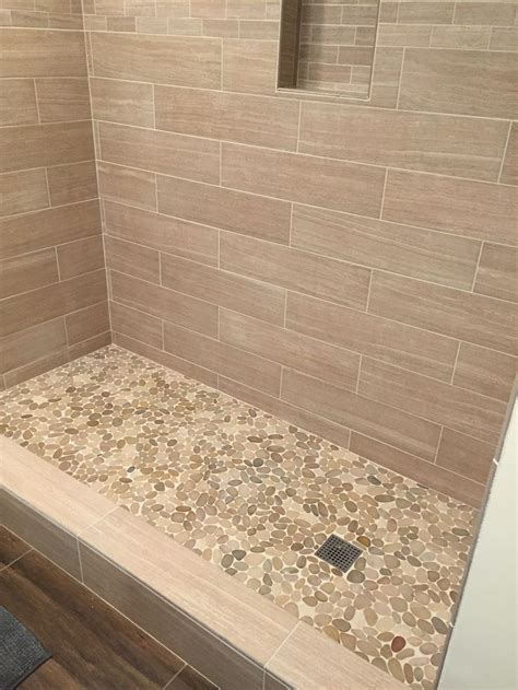 glass tile accent wall bathroom