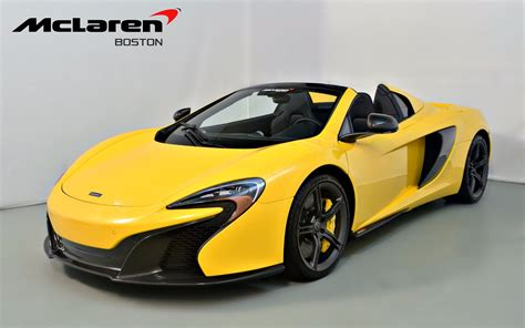 mclaren p1 650s 2016 mclaren 650s spider for sale in norwell ma 005893
