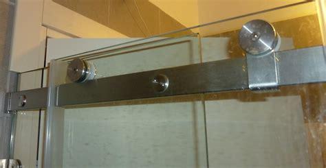 Sliding Glass Door Mechanism Bathroom Does A Swing Slide Frameless Glass Door Mechanism Exist Home Improvement Stack