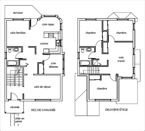 4 Bedroom Country House Plans by Une Habitation Accessible D 232 S La Conception Types D