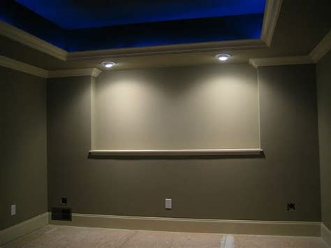 Tray Lighting Ceiling Tray Lighting Blue Tray Ceiling With Rope Lights Trim Rope Lights Are On Home