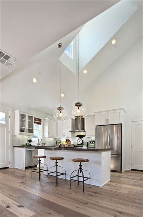 vaulted kitchen ceiling lighting best 25 high ceilings ideas on high ceiling