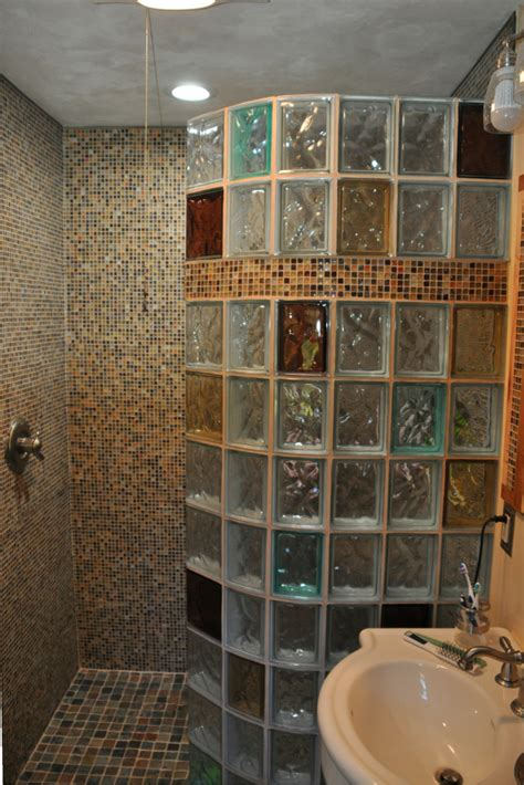 glass block bathroom designs 7 myths about glass block showers