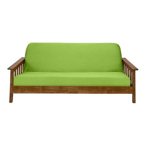 futon nj lime jersey futon slipcover target