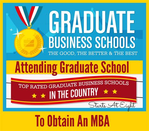 Eight Ideal For Mba Graduates by Attending Graduate School To Obtain An Mba Startsateight