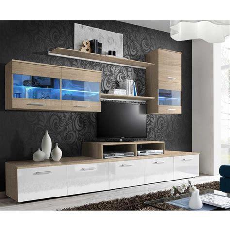 Meuble Tv Suspendu 250 by Meuble Tv Mural Design Quot Logo Quot 250cm Blanc Ch 234 Ne