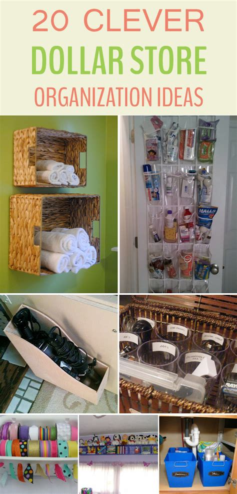 dollar store organization dollar store organization 20 clever dollar store