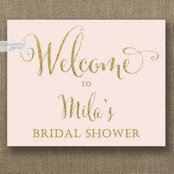 bridal shower welcome sign template gallery templates