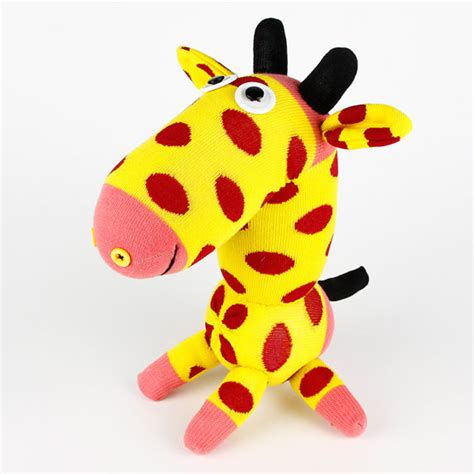 sock animals giraffe items similar to free shipping handmade sock giraffe
