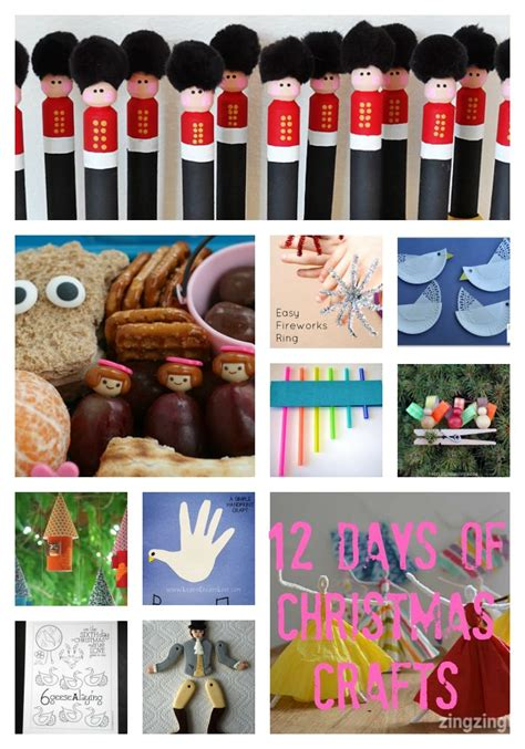 twelve days of christmas crafts 12 days of crafts the gingerbread house co uk