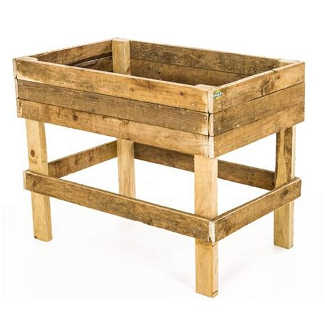 standing planter box outdoor planter boxes the pole yard