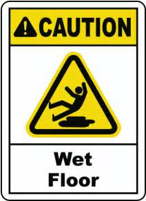 caution floor sign e2277 by safetysign