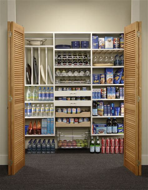 Pantry Closet Storage by Chicagoland Custom Closets Pantries