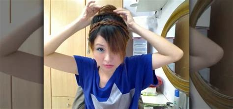 japanese school hairstyles how to do a basic japanese bun hairstyle 171 hairstyling wonderhowto